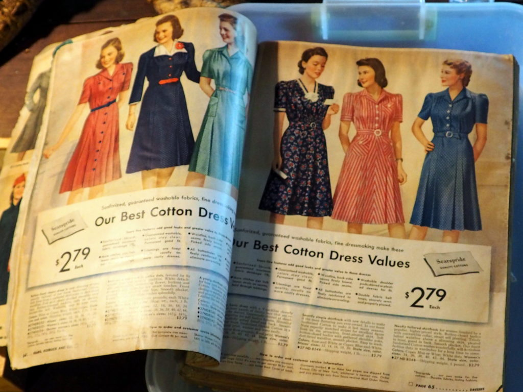 Sears Catalog from WWII